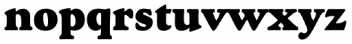 Goudy Heavyface Font LOWERCASE