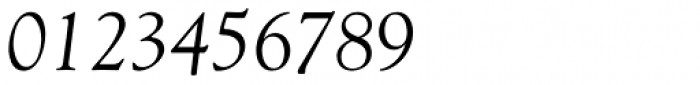 Goudy Italic Font OTHER CHARS