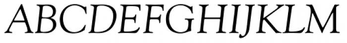 Goudy Italic Font UPPERCASE