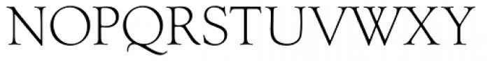Goudy Light Font UPPERCASE