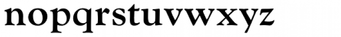 Goudy MT Bold Font LOWERCASE