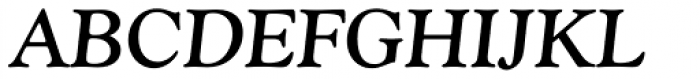 Goudy Old Style Bold Italic Font UPPERCASE