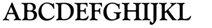 Goudy Old Style Bold Font UPPERCASE