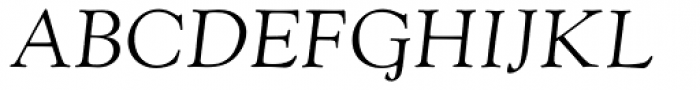 Goudy Old Style MT Italic Font UPPERCASE