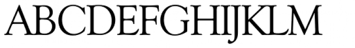 Goudy Serial Font UPPERCASE