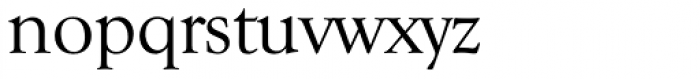 Goudy Serial Font LOWERCASE