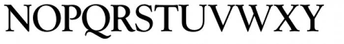 Goudy Series Light Font UPPERCASE