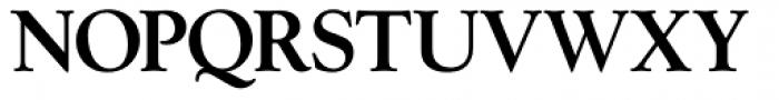 Goudy Series Medium Font UPPERCASE