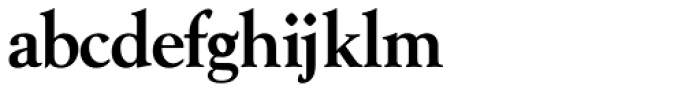 Goudy Series Medium Font LOWERCASE