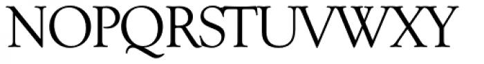 Goudy TS Regular Font UPPERCASE