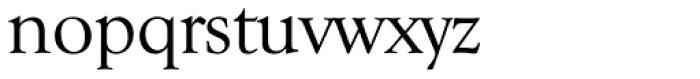 Goudy TS Regular Font LOWERCASE