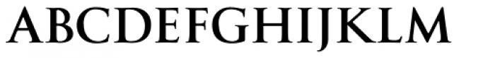 Goudy Trajan Pro Bold Font LOWERCASE