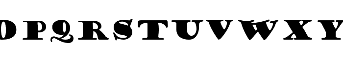 Goudy Stout Font LOWERCASE