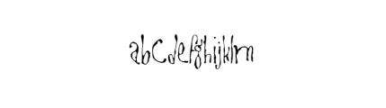 Goitre (plain) Font LOWERCASE