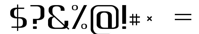 Gputeks Bold Font OTHER CHARS