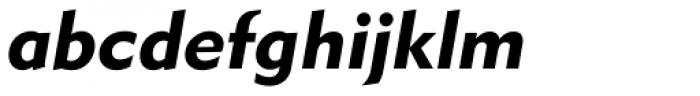 GPMetro Bold Oblique Font LOWERCASE