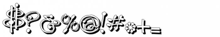GP_Leonardo Shadow Font OTHER CHARS