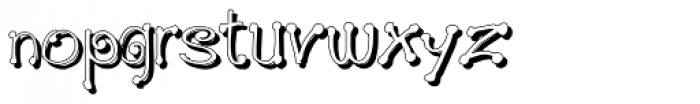 GP_Leonardo Shadow Font LOWERCASE