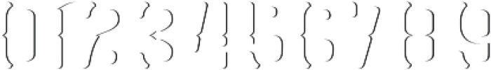 GRAM 02 otf (400) Font OTHER CHARS