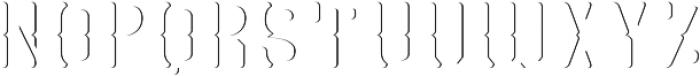 GRAM 02 otf (400) Font UPPERCASE
