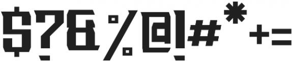 GRVSTitanDecora Decorative otf (400) Font OTHER CHARS