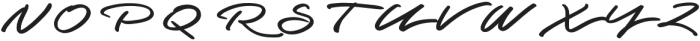 Graced Script otf (400) Font UPPERCASE