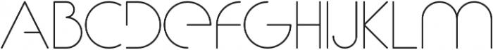 Gracey 100 otf (100) Font UPPERCASE