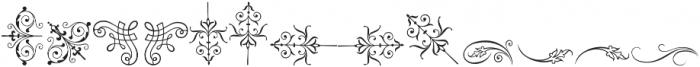 Gracia Ornaments otf (400) Font UPPERCASE
