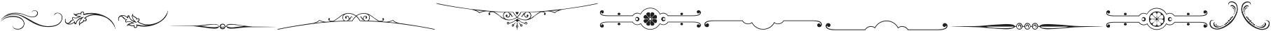 Gracia Ornaments otf (400) Font LOWERCASE