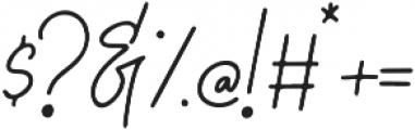 Graciast otf (400) Font OTHER CHARS
