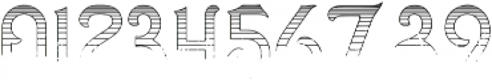 Gradient Line otf (400) Font OTHER CHARS