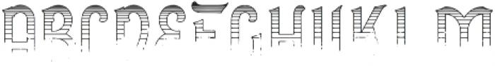 Gradient Line otf (400) Font LOWERCASE