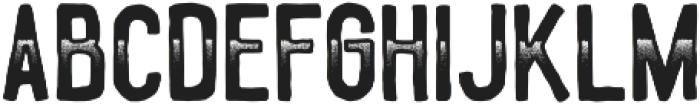 Gradient otf (400) Font LOWERCASE