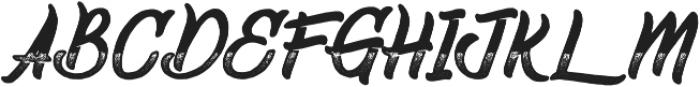 Gradient otf (700) Font UPPERCASE
