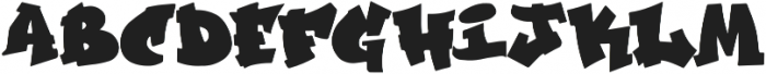 GraffitiCulture otf (400) Font UPPERCASE