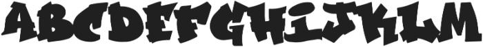 GraffitiCulture otf (400) Font LOWERCASE