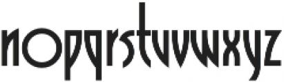 Grafika Regular otf (400) Font LOWERCASE