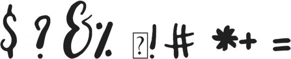 Grainger otf (400) Font OTHER CHARS