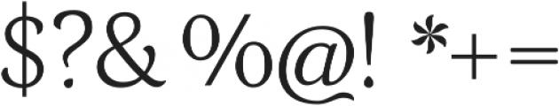 Grana ttf (400) Font OTHER CHARS