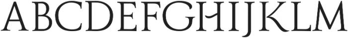 Grana ttf (400) Font UPPERCASE