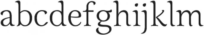 Grana ttf (400) Font LOWERCASE