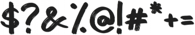 Granada Regular otf (400) Font OTHER CHARS