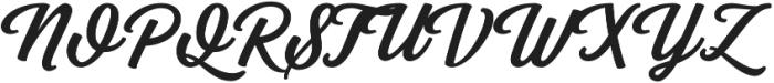 Grand Aventure otf (400) Font UPPERCASE