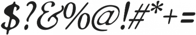 Grand Baron otf (400) Font OTHER CHARS