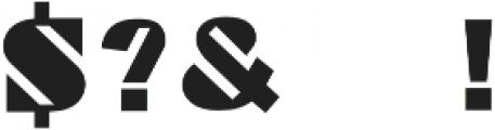 Grand Pix otf (400) Font OTHER CHARS