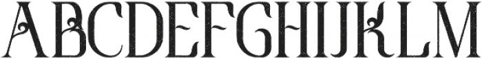 GrandReserve Aged otf (400) Font UPPERCASE