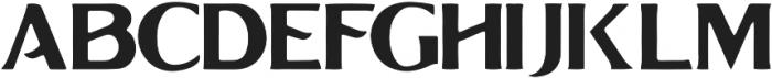 Grandesa-Handrawn Regular otf (400) Font UPPERCASE