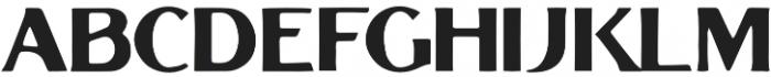 Grandesa-Handrawn Regular otf (400) Font LOWERCASE