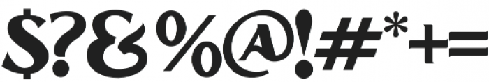 Grandesa otf (400) Font OTHER CHARS