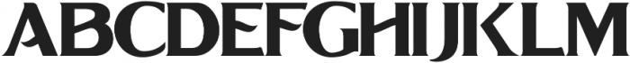 Grandesa otf (400) Font UPPERCASE
